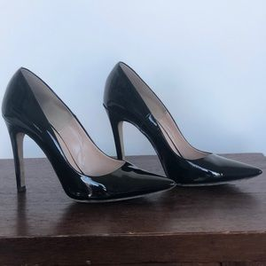 Barneys New York Pumps -Black Patent Leather- 35.5